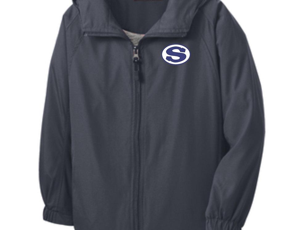 4SW02173SCA     Sport-Tek® Hooded Raglan Jacket