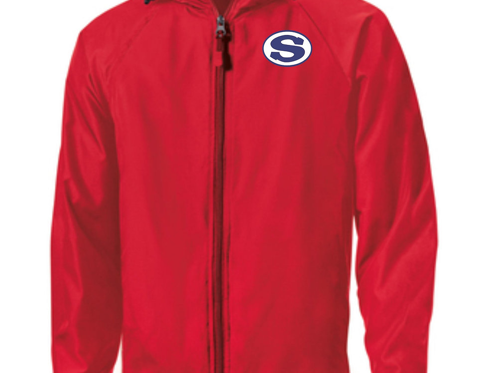 4SW021Y73SCA      Sport-Tek® Youth Hooded Raglan Jacket