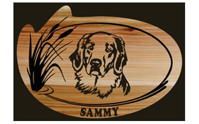 Sammy Customized Sign - Large