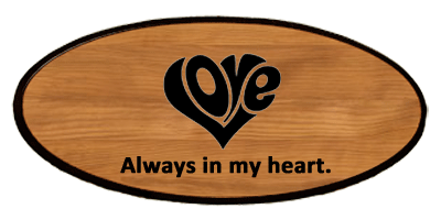 Statement Keepsake - Love Heart Personalized