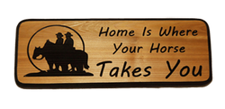 Home Is Where Your Horse Takes You