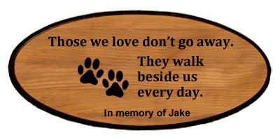 Pet Keepsake - Those We Love Personalized