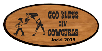 Western Keepsake - Lil' Cowgirls Personalized