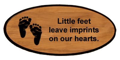Baby Keepsake - Footprints