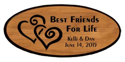Wedding Keepsake - Best Friends Personalized