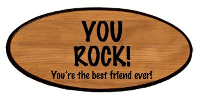 Statement Keepsake - You Rock Personalized