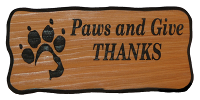 Paws and Give Thanks