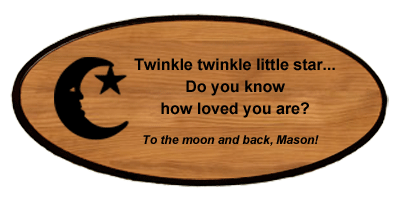 Baby Keepsake - Moon Personalized