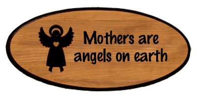Family Keepsake - Mothers Are Angels
