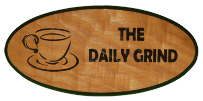 Coffee Keepsake - The Daily Grind