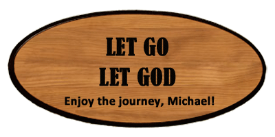 Inspirational Keepsake - Let Go Personalized