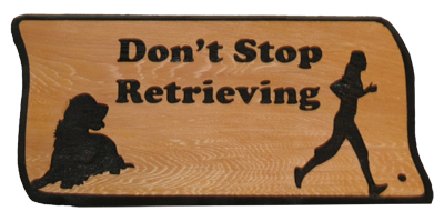 Don't Stop Retrieving - Woman
