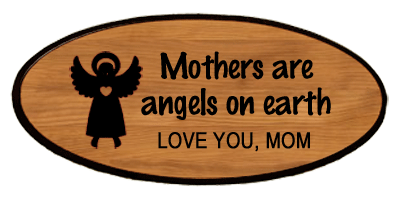 Family Keepsake - Mothers Are Angels Personalized