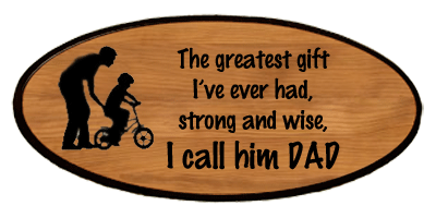Family Keepsake - Dad Greatest Gift