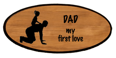 Family Keepsake - Dad First Love Personalized