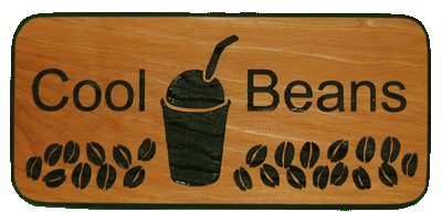 Coffee Keepsake - Cool Beans