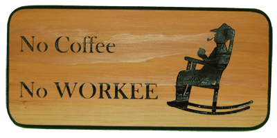 Coffee Keepsake - No Coffee No Workee