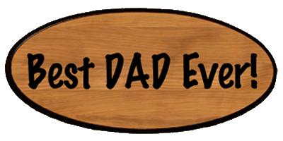 Family Keepsake - Best Dad Ever!