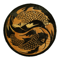 Koi and Landscape Signs