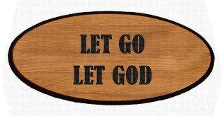 Inspirational Keepsake - Let Go Let God