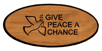 Statement Keepsake - Peace