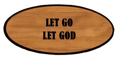 Inspirational Keepsake - Let Go