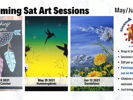 Paint Sessions - Spring 2021