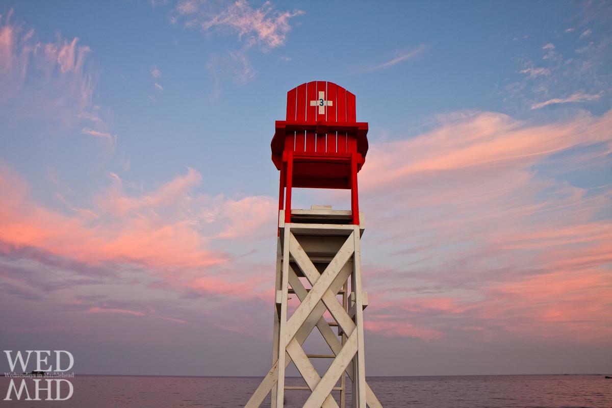 Lifeguard-Chair-at-Sunset-5