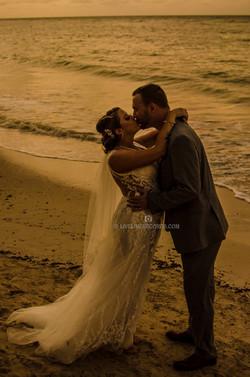 sunset wedding photographer jamaica