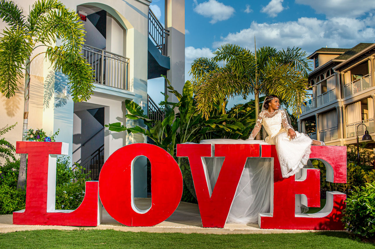 Sandals Montego Bay wedding