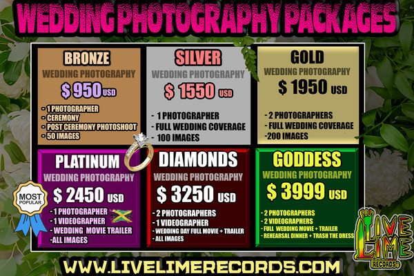 Jamaica Wedding Photography Pricelist.jp