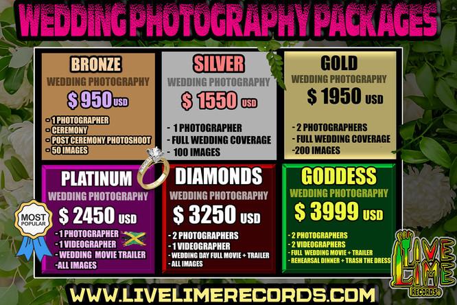Jamaica Wedding Photography Pricelist.jp