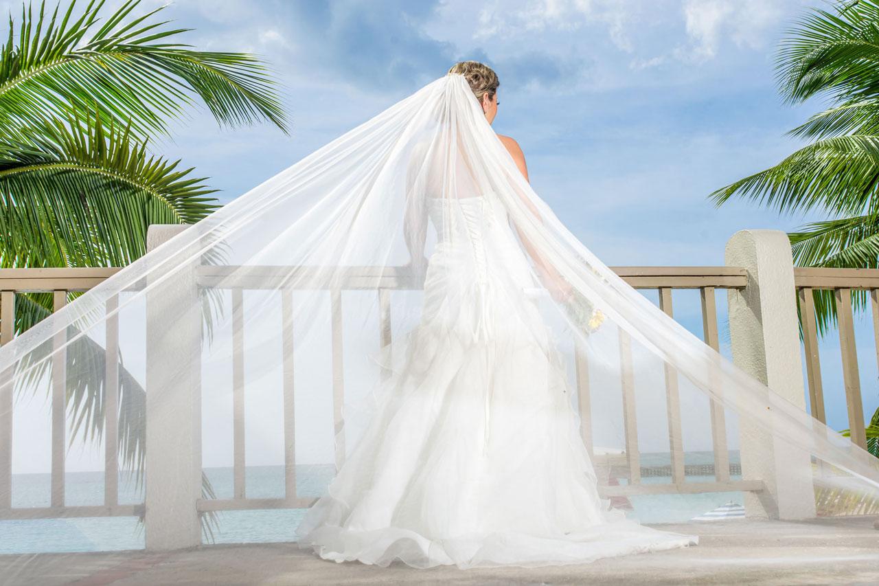 Ocean Coral Spring Wedding
