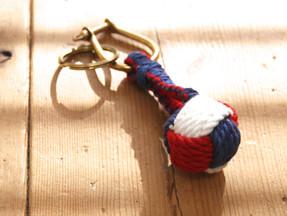 Monkey Knot Key Ring