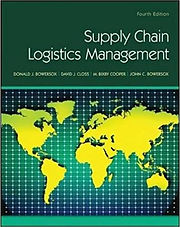 Supply Chain Logistics Management 4th Ed