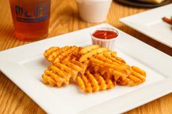 Waffle Sweet Potato Fries