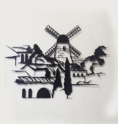 ירושלים - תמונת מתכת