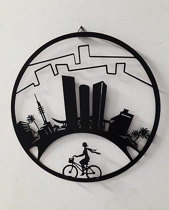 תמונה ממתכת ״תל אביב״