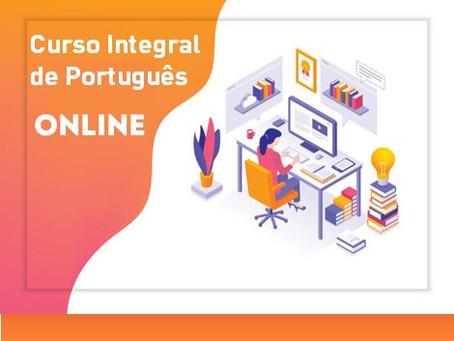 Curso Integral de Português - Online