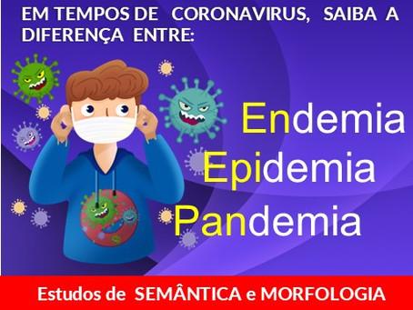Você sabe a diferença entre Endemia,  Epidemia e Pandemia