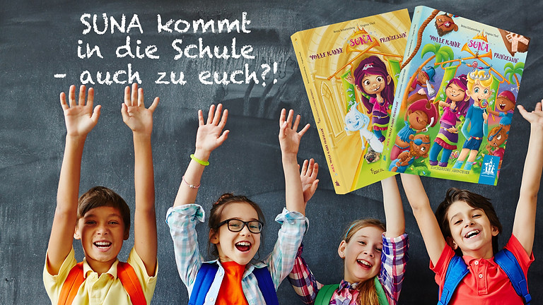 SUNA kommt in die Schule – auch zu euch?!