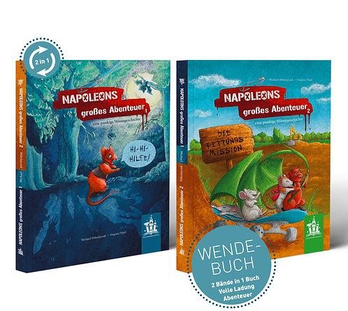 NAPOLEONS großes Abenteuer - eine punkige Mäusegeschichte - 2 in 1 Wendebuch