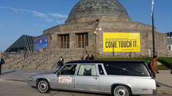 The dead sure do get around.jpg 6 to 9 tonight balloon twisting at the Adler Planetarium with my spe