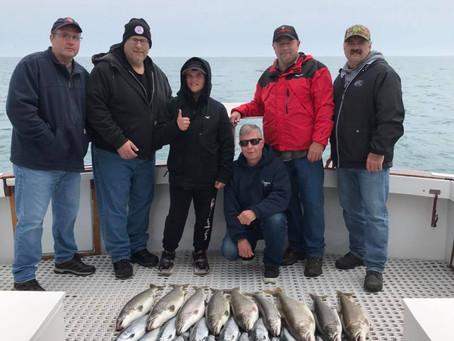 April/May Coho Salmon Fishing