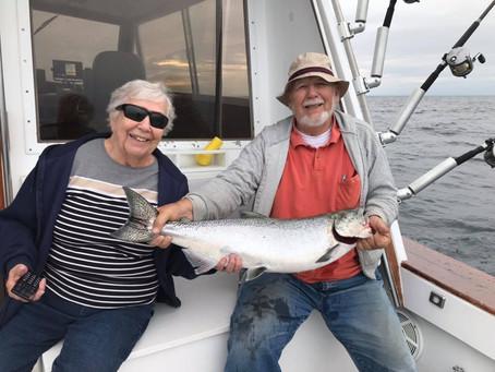 King Salmon Charters- Kenosha Wisconsin is Summer Fishing at its Finest!