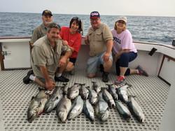 Salmon Charters Lake Michigan