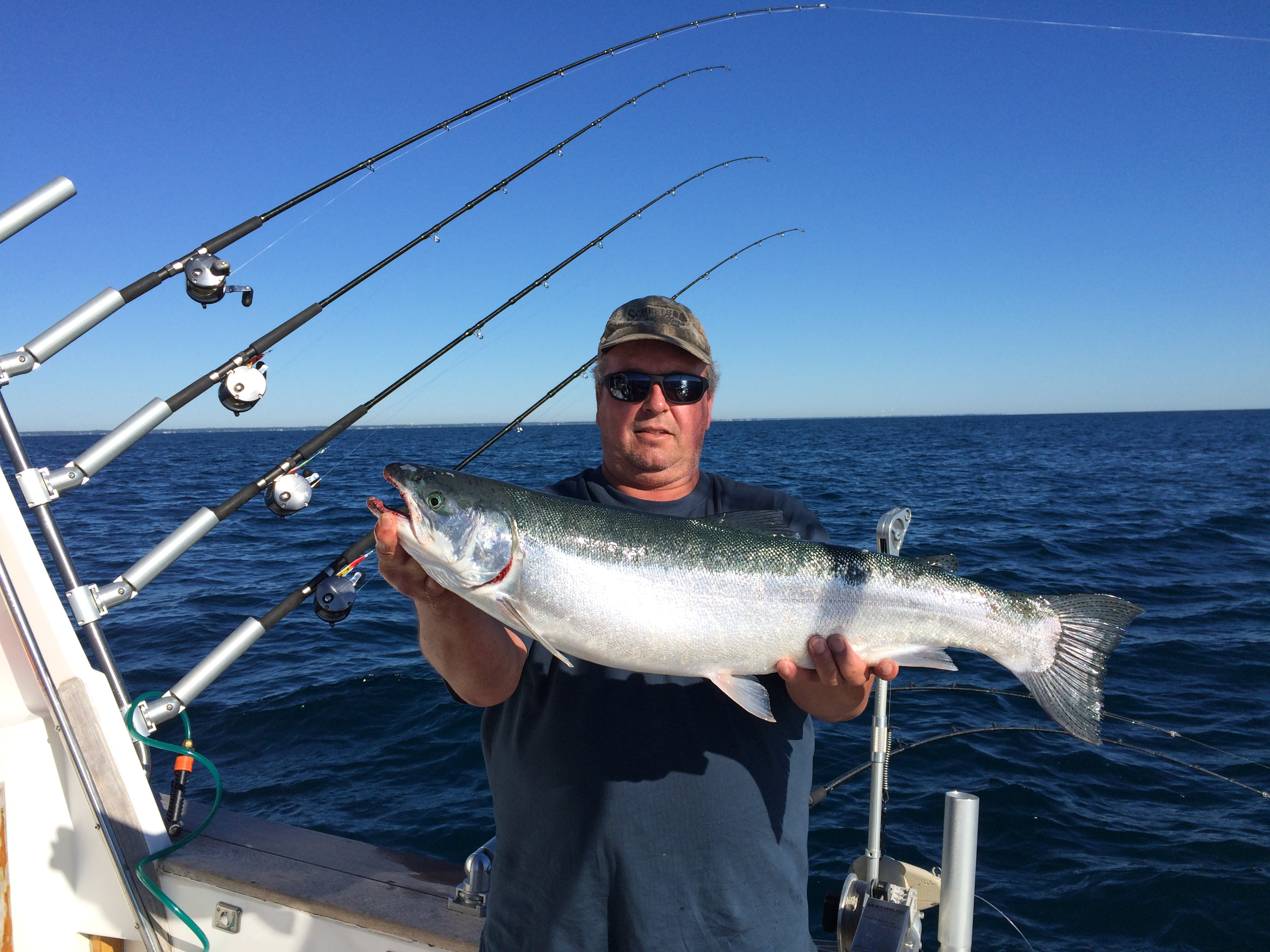 Salmon Charters Lake Michigan