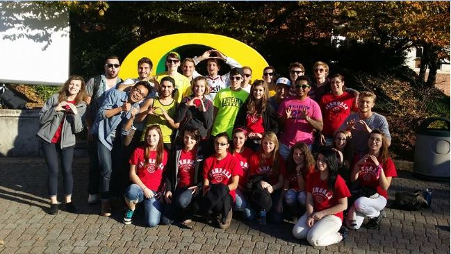 Students at University of Oregon