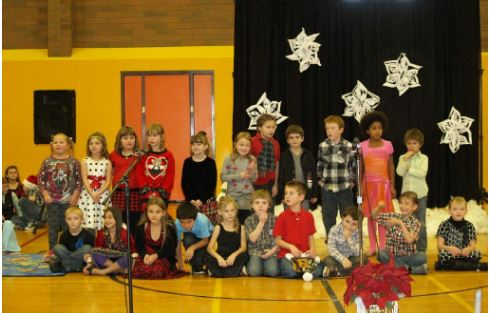 GES Christmas pageant