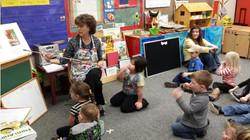Kids sitting in Pre-K
